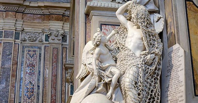 В сети обратили внимание на скульптуру 18 века: люди не могут поверить в то, что она ВСЯ из мрамора