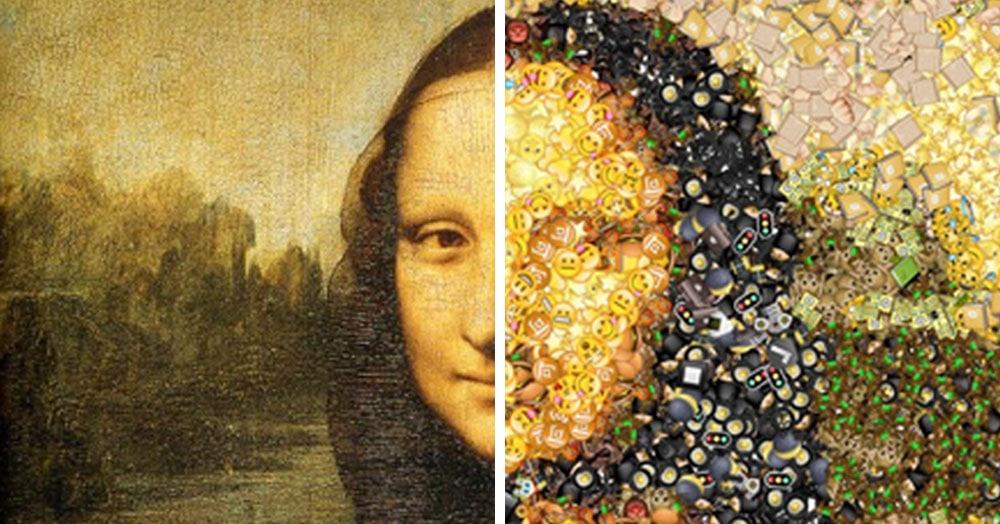 Американец разработал забавный сервис, который превратит любую вашу фотку в мозаику из смайликов
