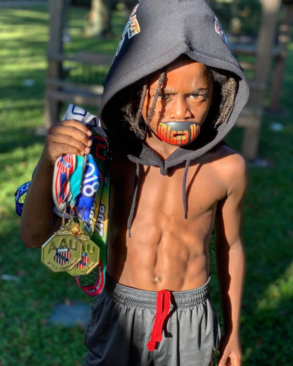 blaze 813 43594886 2143492625978562 4177227751251992479 n - 7-летний мальчик побил мировой рекорд в беге на 100 метров. Усейну Болту пора начинать волноваться