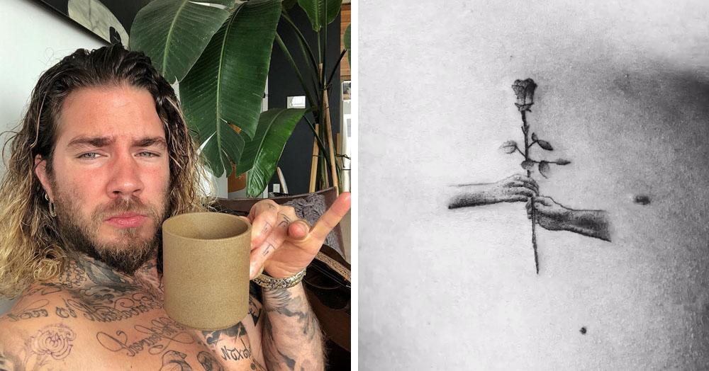 Венгерский татуировщик показал жизнь розы от рождения до увядания — и всё это на коже человека!