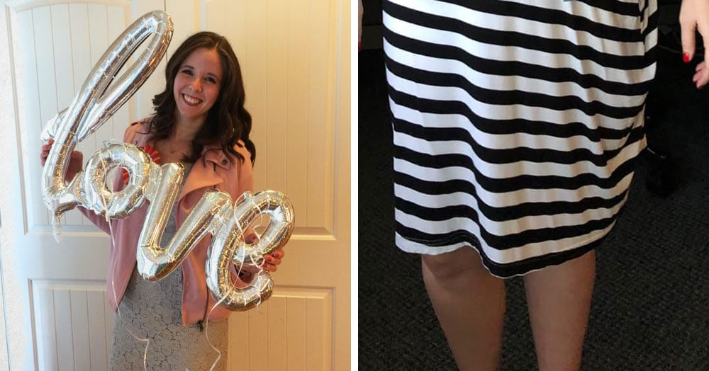 Девушка решила, что подруга подарила ей юбку, и надела её на работу. Юбка оказалась чехлом для автокресла