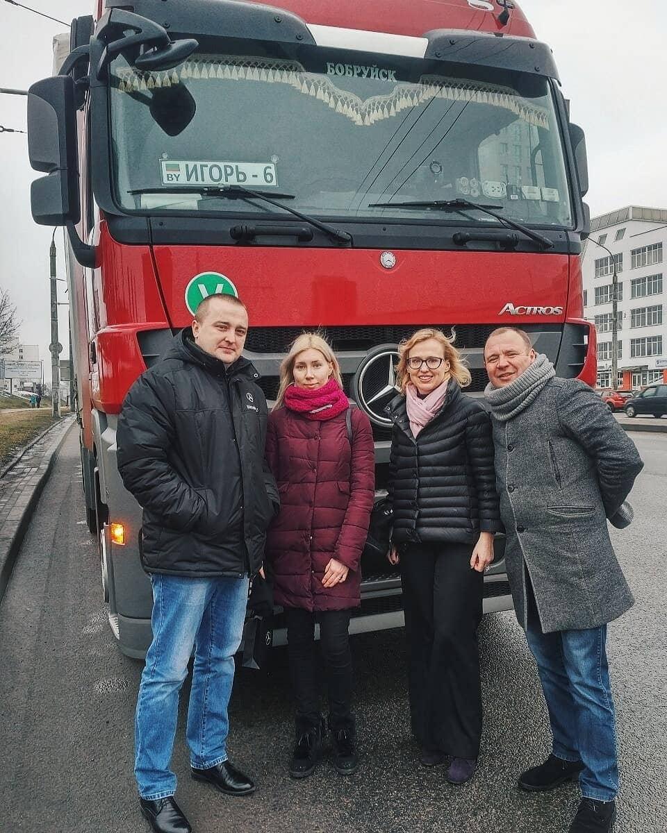 sasha truck 50966822 245350016407067 3003673632454242802 n - Девушка из Белоруссии рассказывает в своём Инстаграме, как осуществить мечту и стать дальнобойщицей