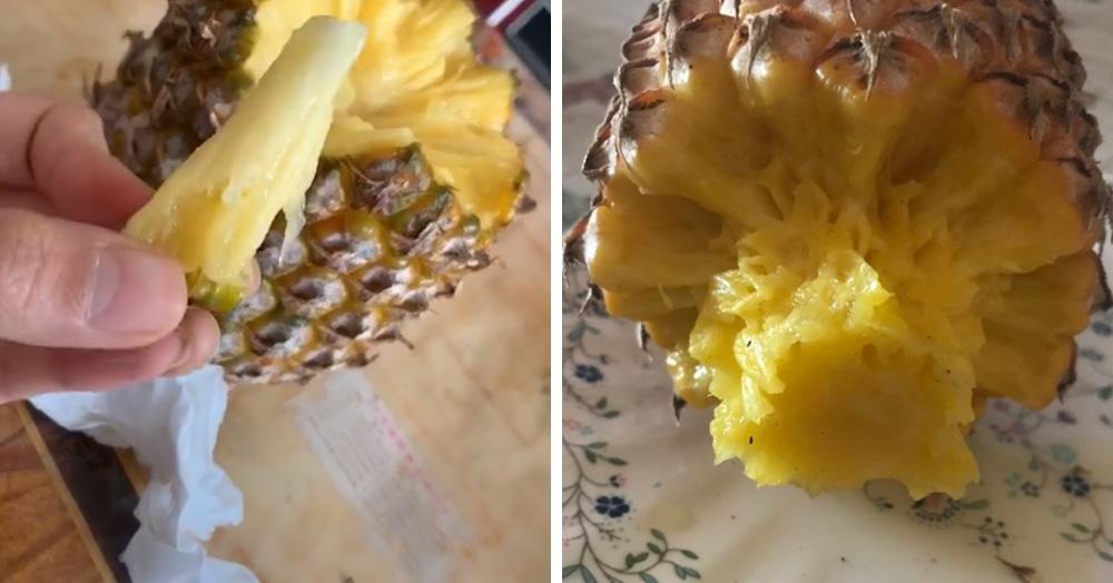 В TikTok показали, как разделать ананас. Оказалось, мы всегда делали это неправильно