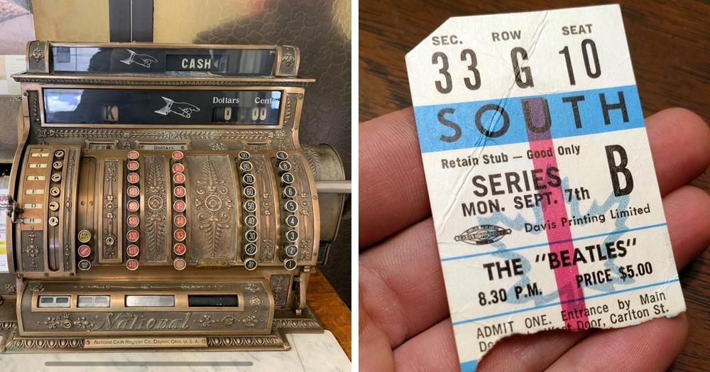20 фотографий занятных вещиц из прошлого, которые уже стали частью истории