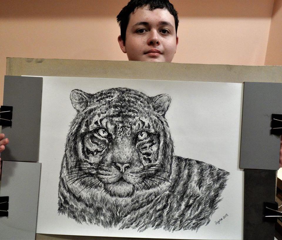 50283383 2024226854541480 4228660590156972032 n - Этот сербский мальчик с 2 лет мечтал быть художником. Сейчас ему 16, и прогресс просто поразительный