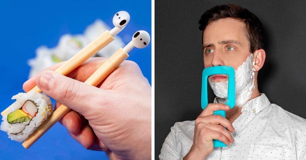 Американский дизайнер придумывает несуществующие проблемы, а потом создаёт устройства для их решения