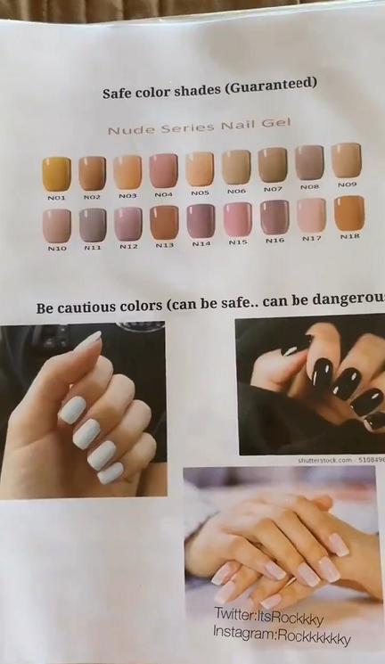 fuayaypvroplr - «Если цвет есть в радуге — беги»: парень рассказал, как определить характер девушки по её ногтям