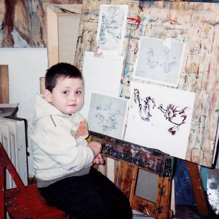 my works 5c78f195d539f  700 - Этот сербский мальчик с 2 лет мечтал быть художником. Сейчас ему 16, и прогресс просто поразительный