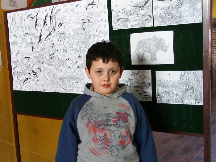 my works 5c78f74080820  700 - Этот сербский мальчик с 2 лет мечтал быть художником. Сейчас ему 16, и прогресс просто поразительный