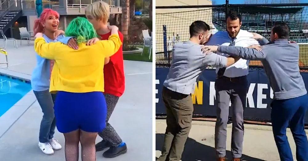 В сети появился новый челлендж — что такое «Треугольный танец» и как его вообще танцевать