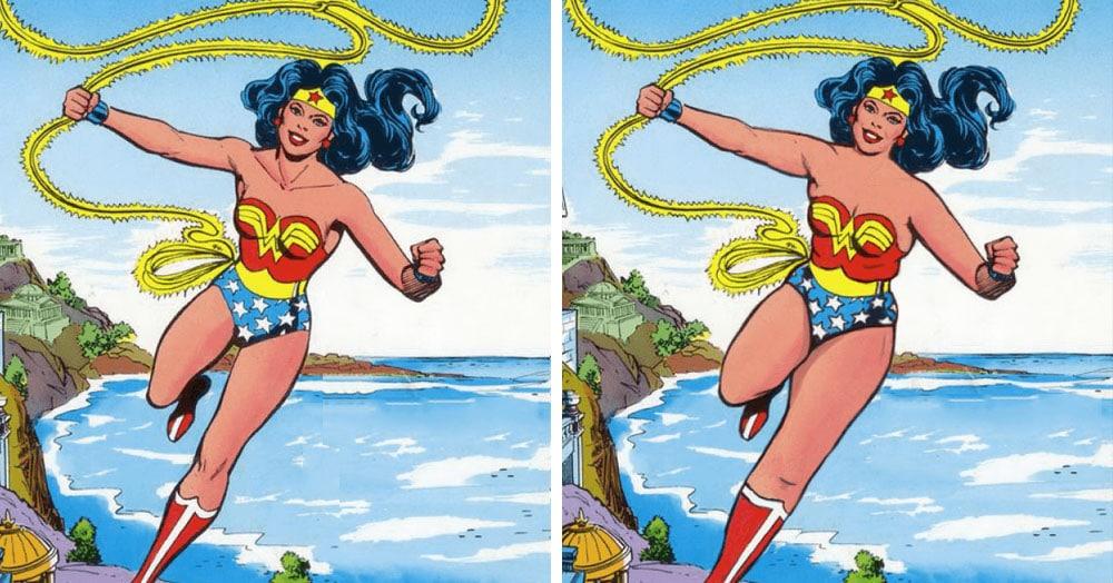 Художник представил, какими были бы супергерои, выгляди они как реальные люди