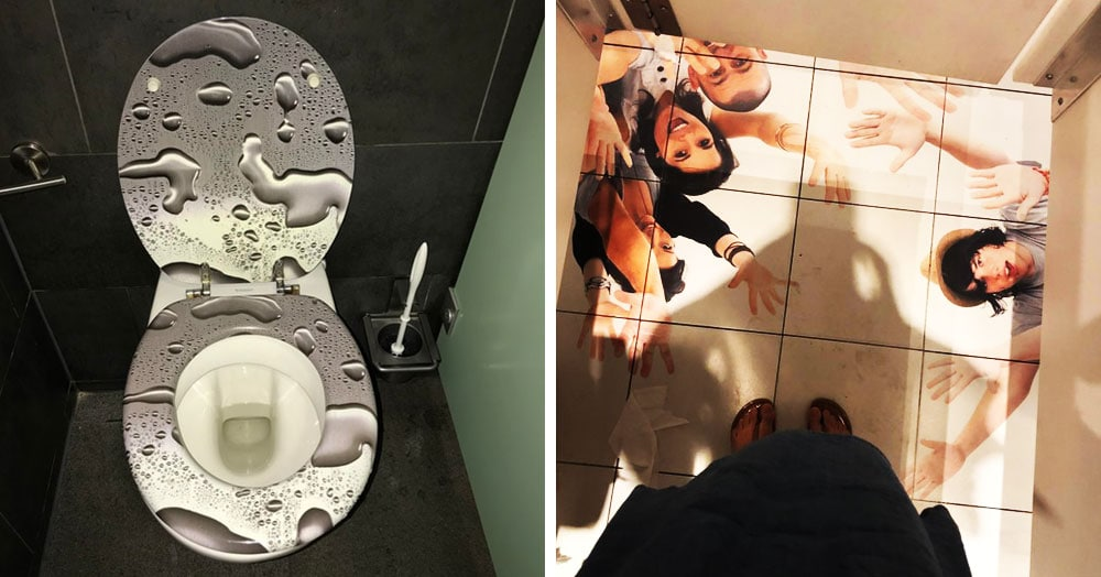 25 дизайнерских решений для ванных комнат, которые сложно понять и трудно забыть