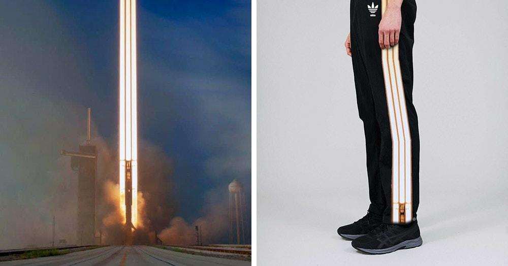 «Как тебе такое, Илон Маск?»: фотошоперы устроили битву в честь запуска ракеты-носителя Falcon Heavy