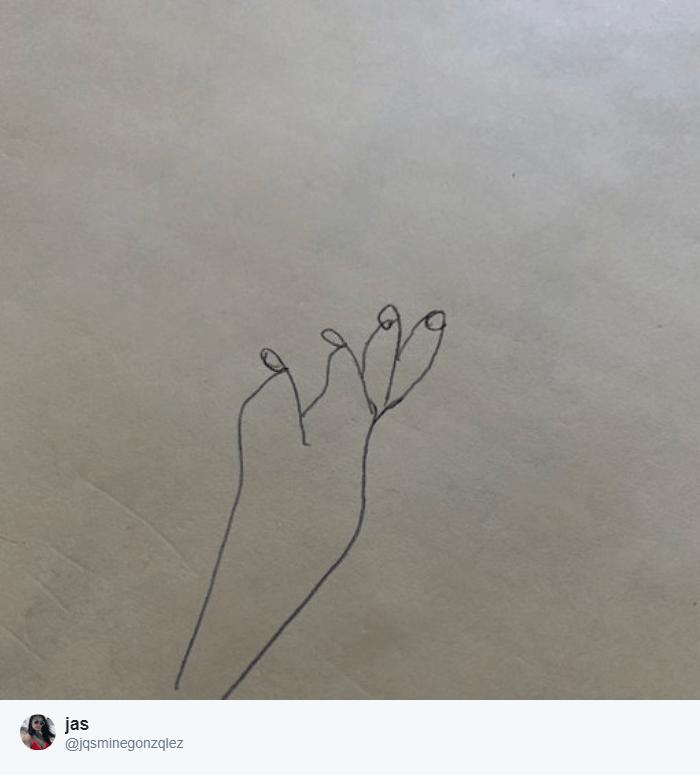 13 2 - В Твиттере пытаются нарисовать руку по простому обучающему видео. И это флешмоб из сплошных провалов