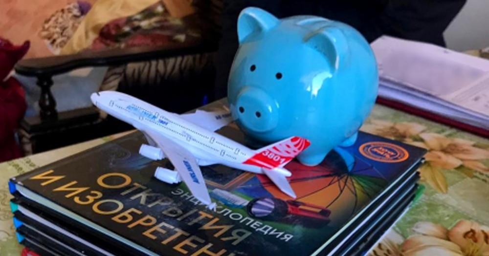 8-летний мальчик из Астрахани ушёл в кругосветное путешествие, взяв с собой книги, самолётик и банан