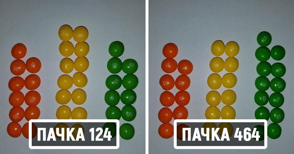 Математик решил отыскать две одинаковых пачки Skittles. Ему понадобилось 82 дня и 27 тысяч конфет
