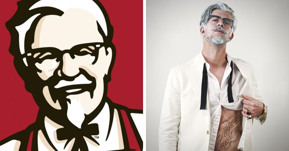 KFC представила новый образ Полковника Сандерса, и он горячее, чем острые куриные крылышки