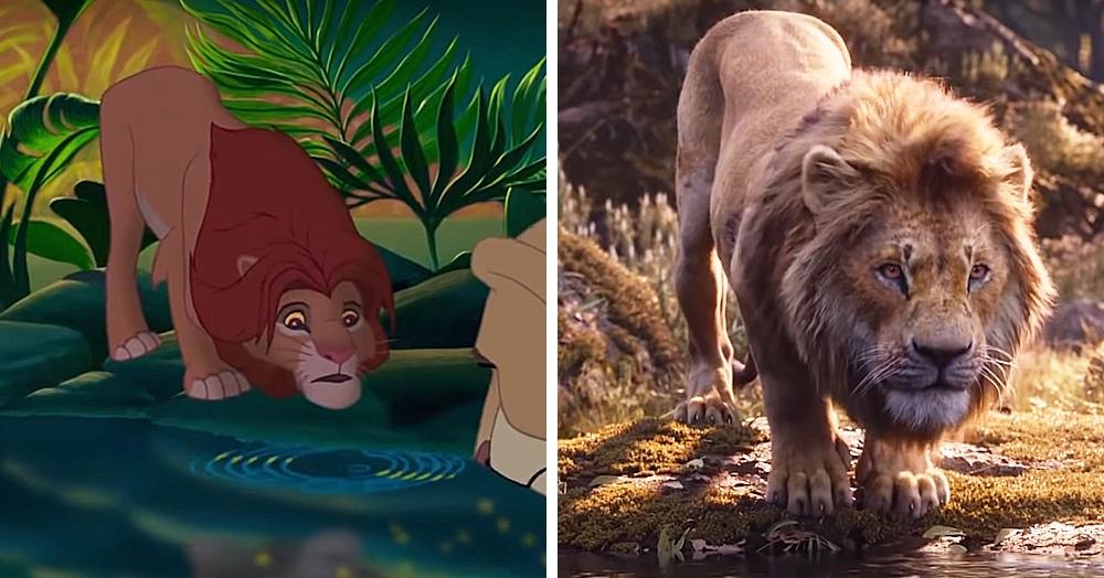 В сети появилось покадровое сравнение нового трейлера «Короля Льва» с оригинальным мультфильмом