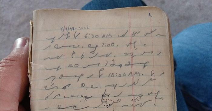 Парень опубликовал загадочное письмо своего деда «на эльфийском». Пользователи помогли его прочесть