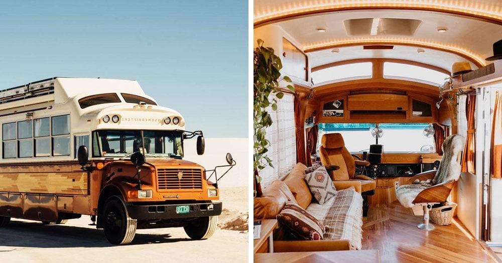 20 фургонов, которые оснастили всем необходимым и превратили в крутые дома на колёсах