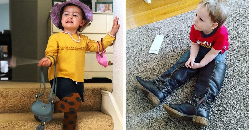 23 случая, когда детям разрешили выбрать наряд самостоятельно, и они оторвались по полной