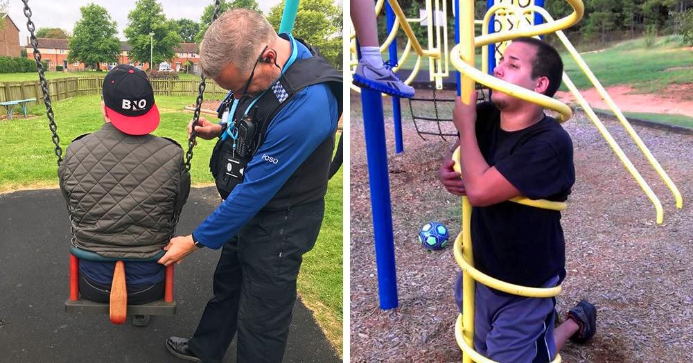 15 случаев, когда взрослые пытались развлечься на детских площадках, но бесславно застряли