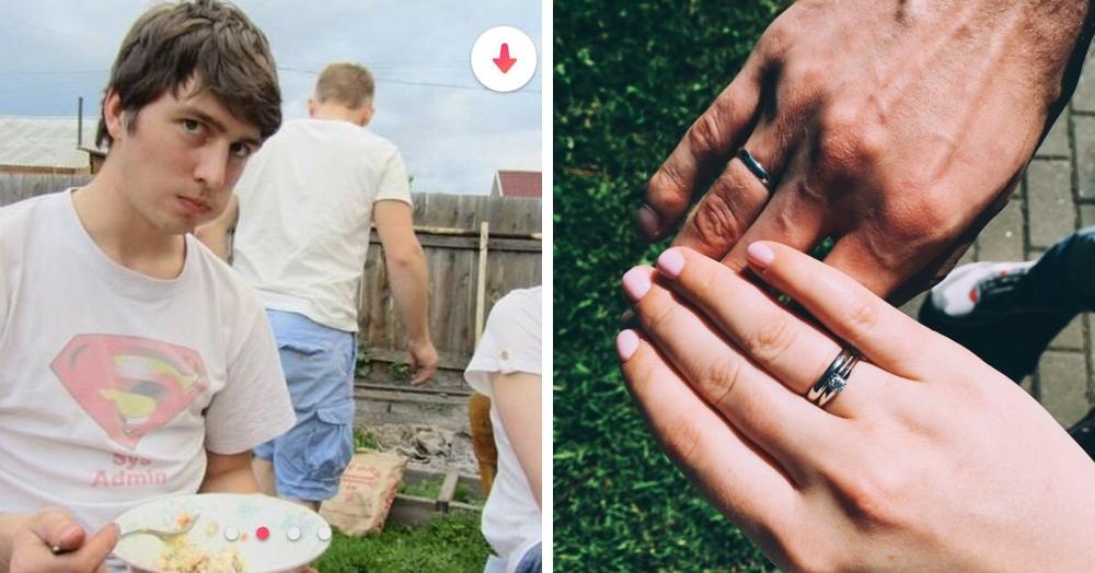 Парень покорил девушку в Tinder любовью к оливье. Шутки шутками, но через 2 года они поженились