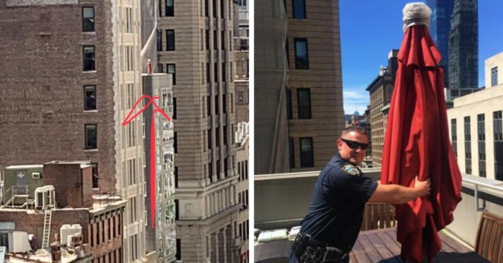 Девушка вызвала 911 из-за женщины на крыше, но спасать никого не пришлось. «Женщину» видели многие
