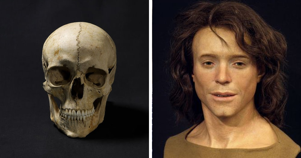Учёный восстановил внешность человека, жившего 1300 лет назад. И он улыбается!