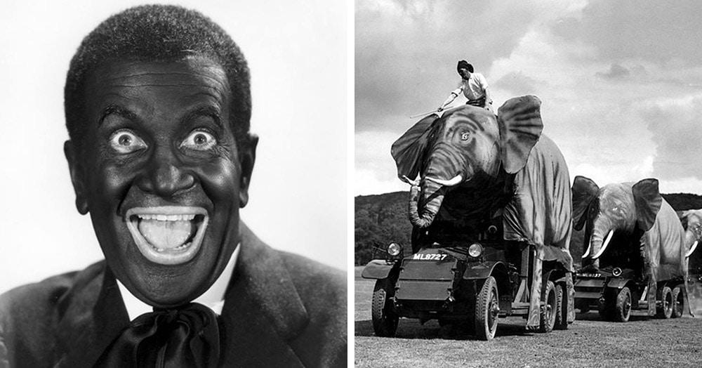 18 исторических снимков из архива Роба Муриса — человека, который коллекционирует фотостранности
