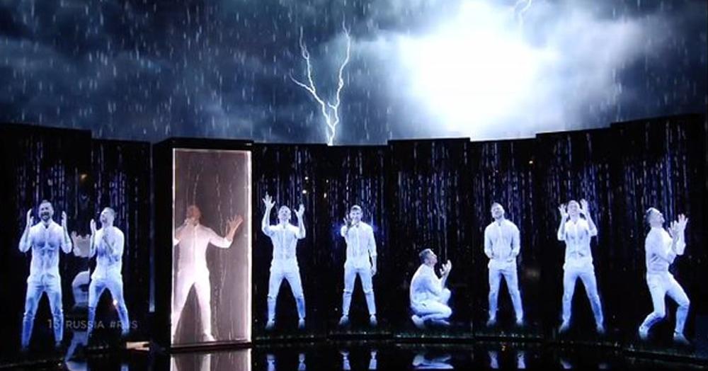 Лазарев выступил в полуфинале Евровидения и попал в мемы. Он само воплощение тоски и драматизма
