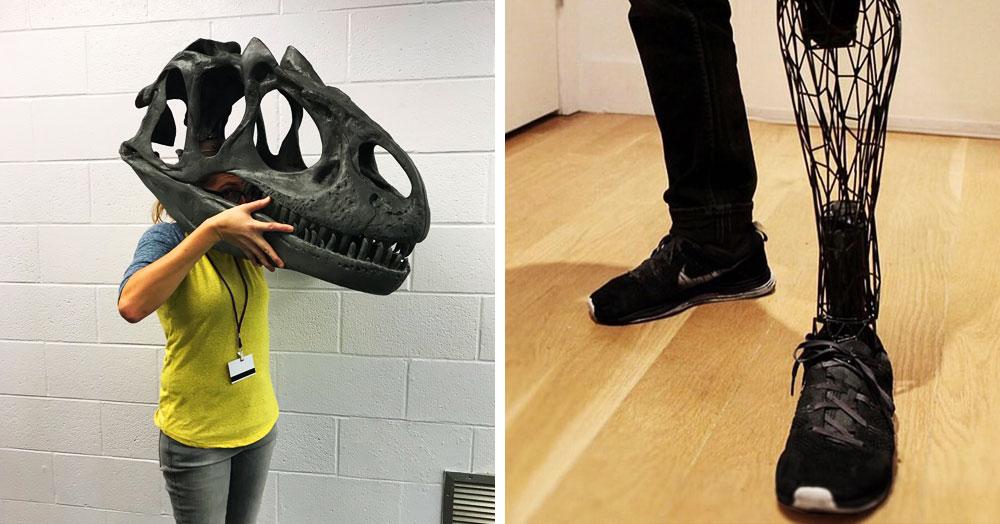 20 доказательств того, что 3D-принтер – всемогущая штука