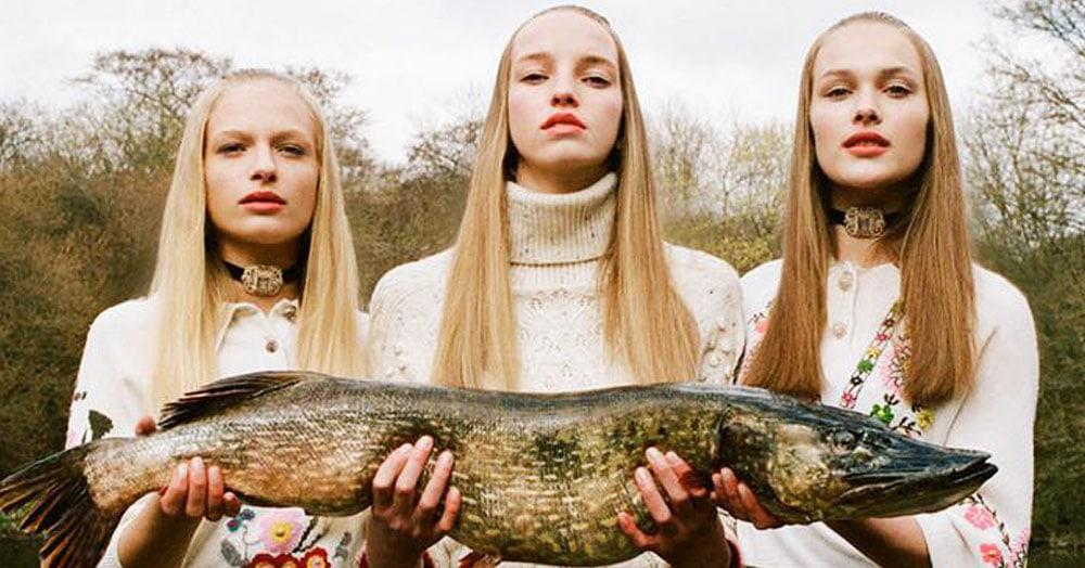 Фотограф из Братиславы делает крутые фешн-фото, объединив высокую моду и деревенское захолустье