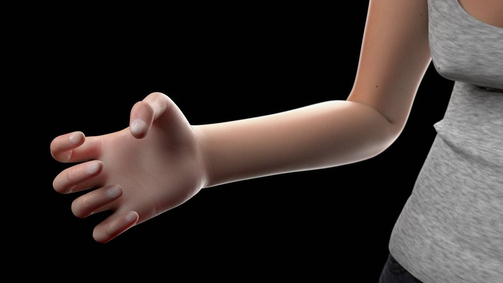 003 mindy hand left - Учёные показали, как может выглядеть человек в 2100 году. Зрелище неутешительное
