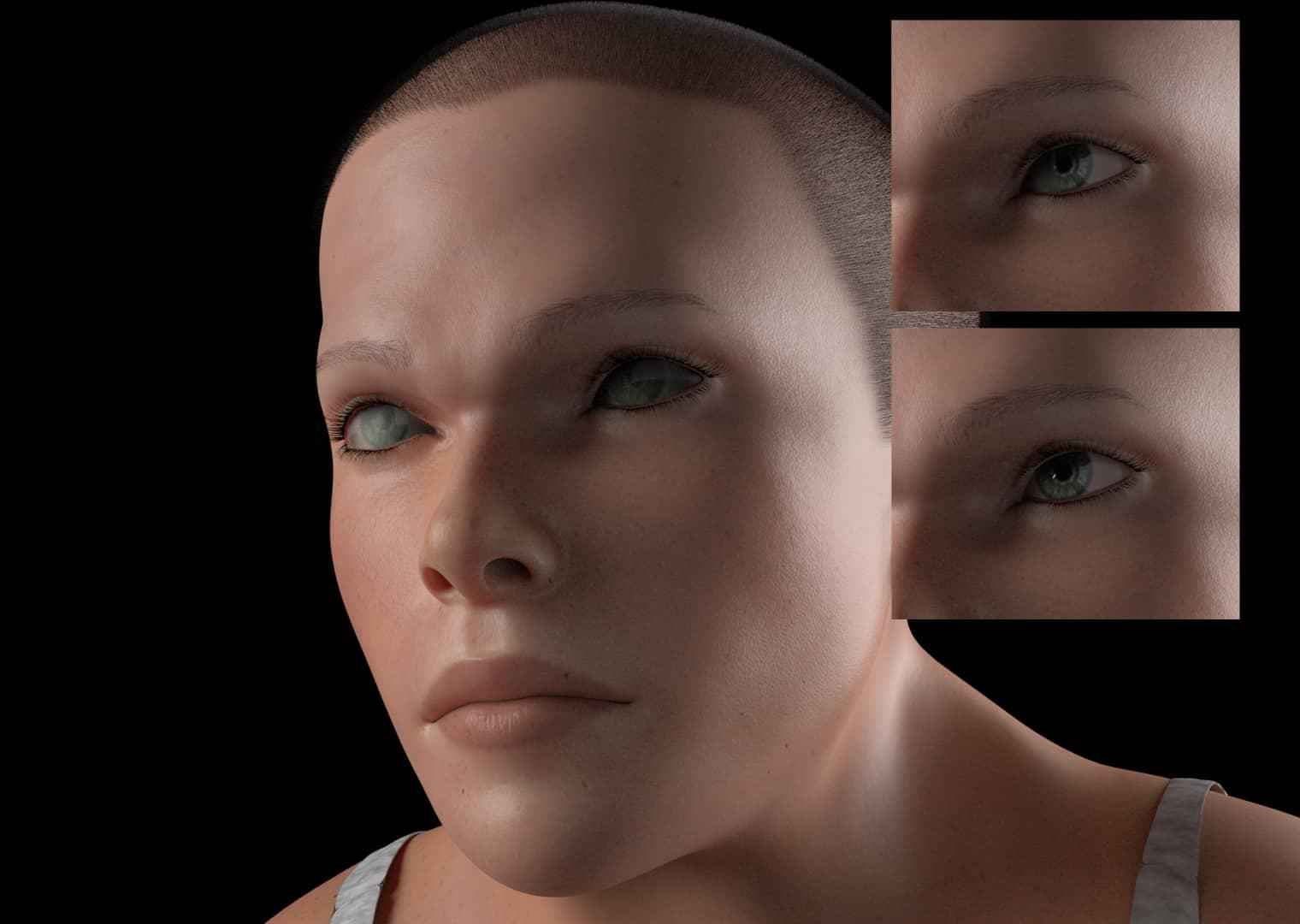 009 mindy eye - Учёные показали, как может выглядеть человек в 2100 году. Зрелище неутешительное