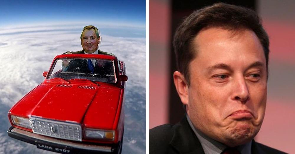 Илон Маск ответил томским учёным на запуск картонных «Жигулей» в космос. Ждём рэп-баттл!