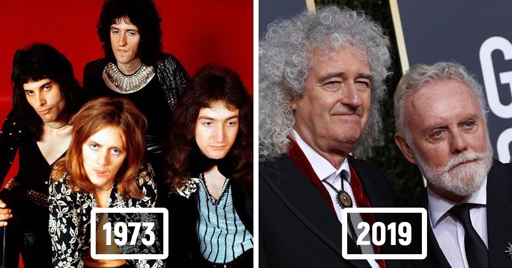 16 легендарных музыкальных групп в начале своей карьеры и сейчас
