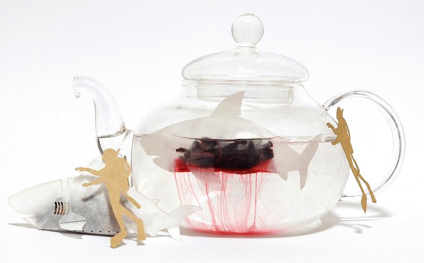 16 - Японская компания сделала чайные пакетики в виде существ, которыми можно удивить и напугать гостей