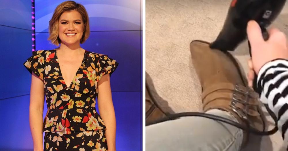 Что делать, если обувь оказалась мала? Простой и действенный лайфхак от австралийской телеведущей
