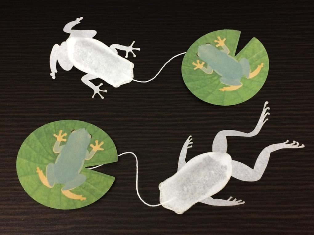 31 - Японская компания сделала чайные пакетики в виде существ, которыми можно удивить и напугать гостей