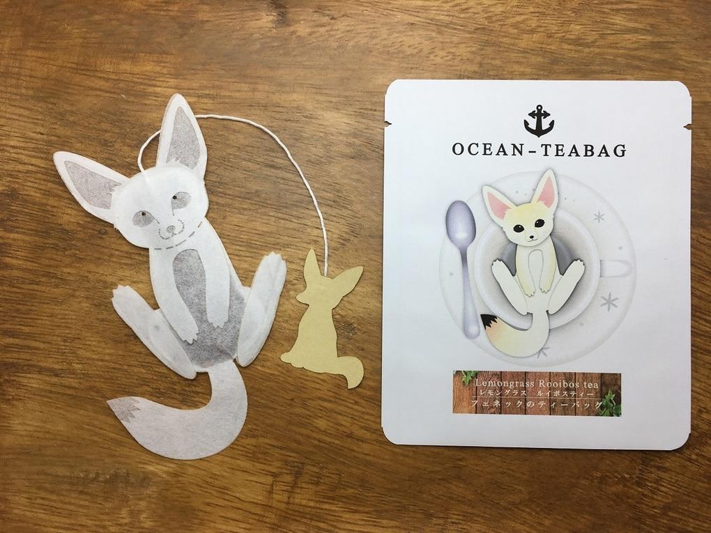 36 - Японская компания сделала чайные пакетики в виде существ, которыми можно удивить и напугать гостей