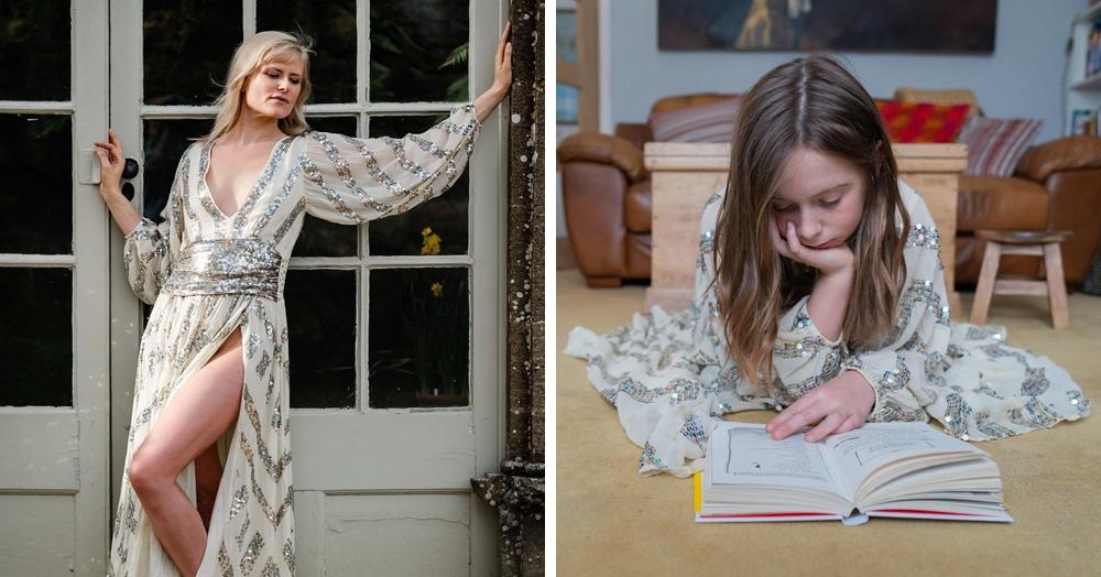 11 фотографов провели фотосессии с одним и тем же платьем. Но какие разные образы получились!