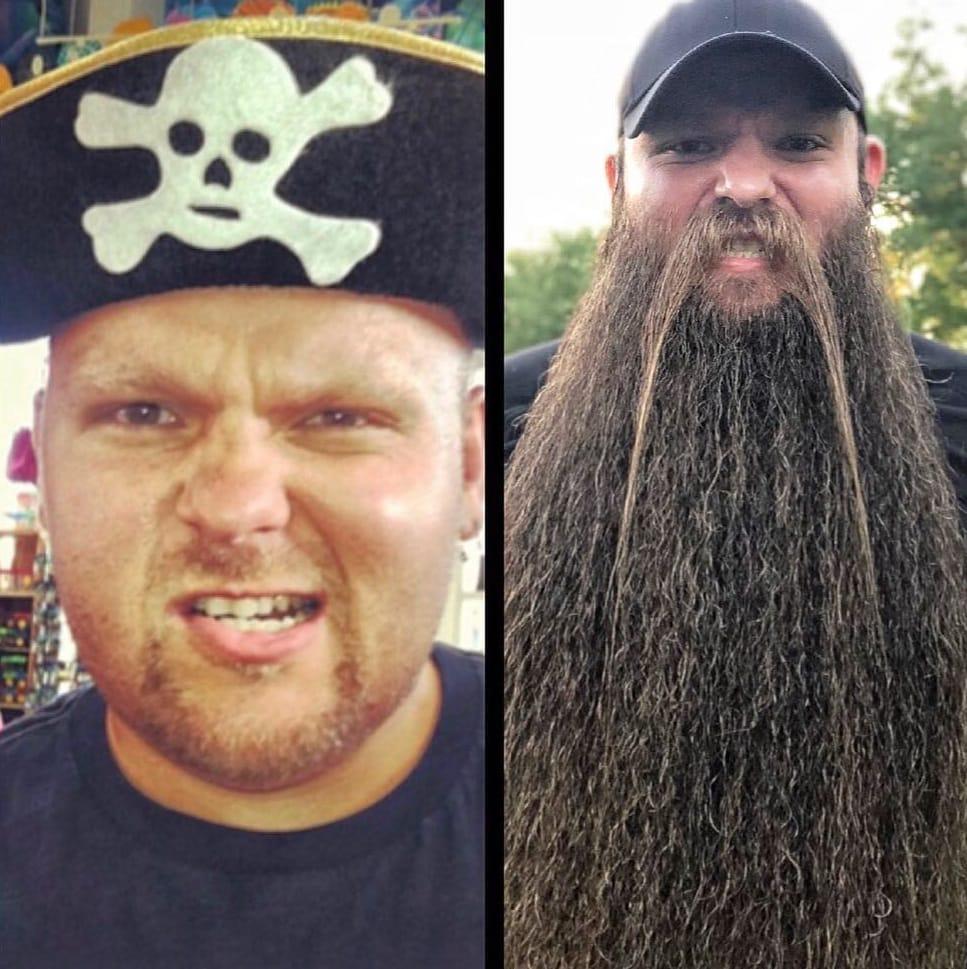 43043354 337467987066416 8490294566703249635 n - Американец хотел бороду, чтобы быть пиратом. Но переборщил, и теперь у него Бородища с большой буквы