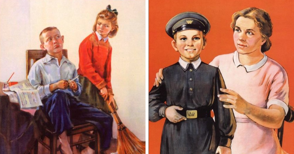 20 мотивационных плакатов, которые учили уму разуму советских детей