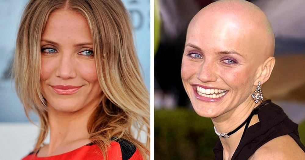 12 знаменитых актрис, которые побрились налысо для съёмок в фильме