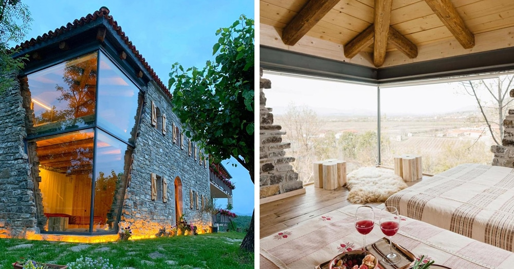 В Албании есть невероятный дом с углом из стекла: что он из себя представляет и как выглядит внутри
