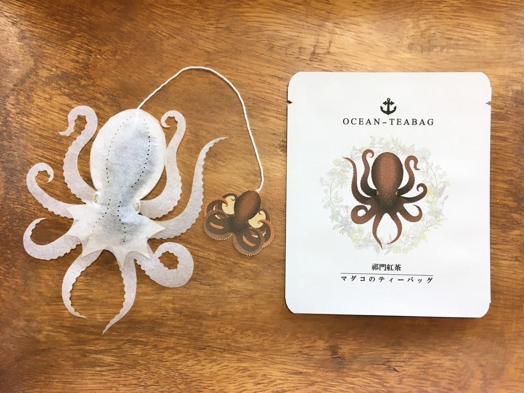 9 3 - Японская компания сделала чайные пакетики в виде существ, которыми можно удивить и напугать гостей