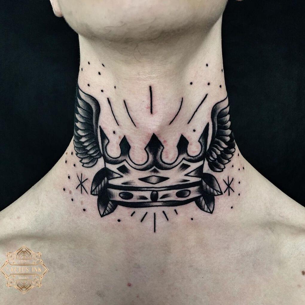 cactusink 58409803 851212931878863 273091226929162822 n - 30 татуировок, которые стали украшением на шее у своих владельцев