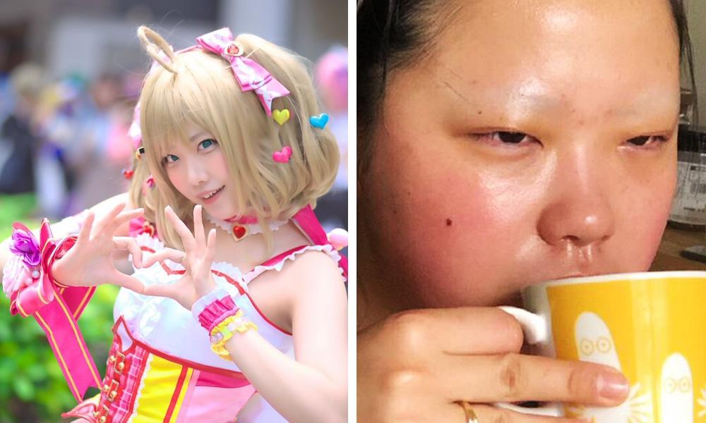cfvuyayakersnopmglridod - Японские косплееры устроили флешмоб и показали, как выглядят в образе и в обычной жизни
