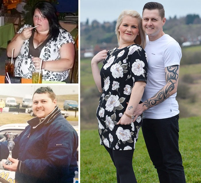 Couple Shed 15 St Between Them By Firstly Selling Their Car So They Would Walk More